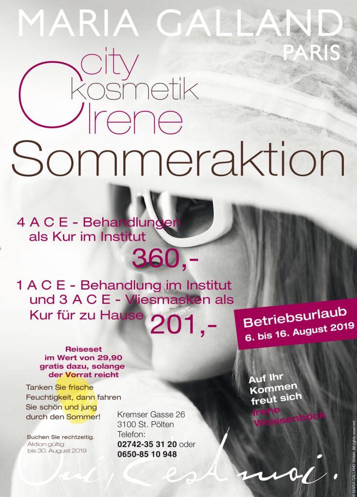 Citykosmetik Sommeraktion 2019